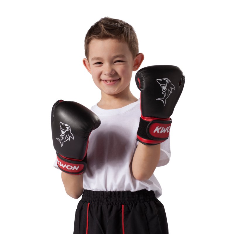 gants de boxe enfant shark kwon. Black Bedroom Furniture Sets. Home Design Ideas