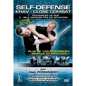 Indépendance prod DVD KRAV MAGA - Self-Defense Krav - Close Combat - Plus de 150 Technique DVD81