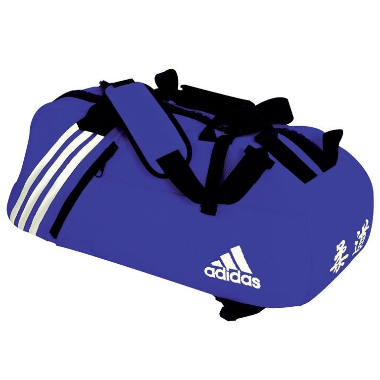 sac de sport judo adidas grain de riz bleu. Black Bedroom Furniture Sets. Home Design Ideas