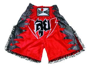 Fuji Mae - Short K-1 Style FIGTH  rouge T/L - 11445