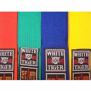 Ceinture arts martiaux White Tiger - Noris