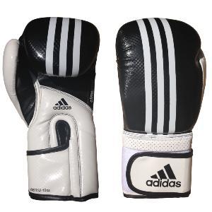 gants de boxe adidas noir blanc. Black Bedroom Furniture Sets. Home Design Ideas
