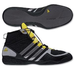 chaussure boxe blanche adidas