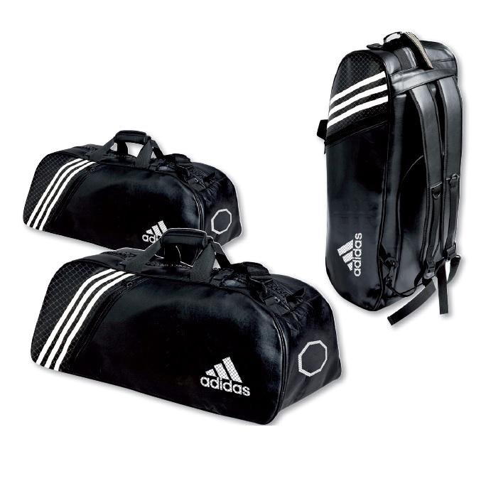 sac de sport pu adidas convertible en sac dos mma. Black Bedroom Furniture Sets. Home Design Ideas