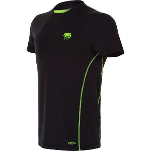 T-shirt compression VENUM Contender black yellow