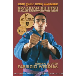 DVD Brazilian Jiu Jitsu: compétition - Budo International