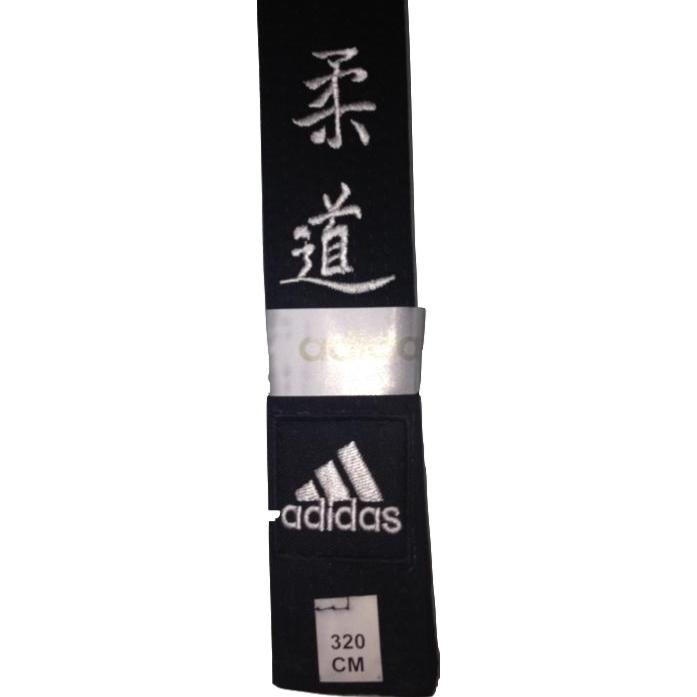 867758a1612b Ceinture noire adidas brodée Judo