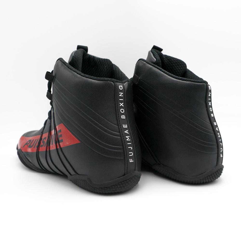 Chaussures de Boxe Pussance Fuji Mae Noir 38