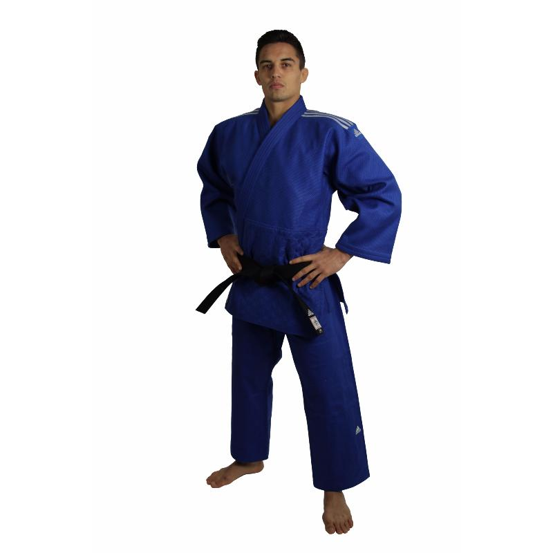 Kimono de judo Adidas J930 Champion Bleu