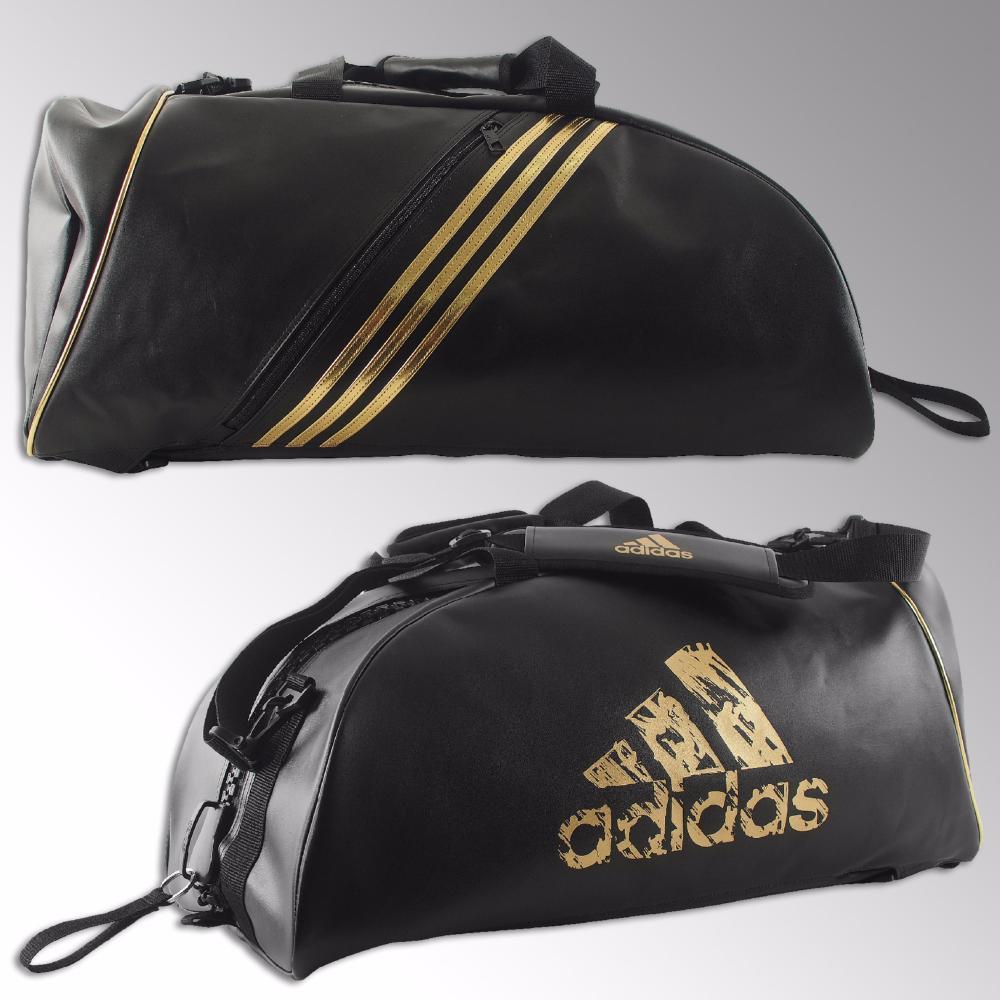 sac de sport adidas combat noir or. Black Bedroom Furniture Sets. Home Design Ideas