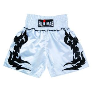 Short Boxe K1 Tribal blanc Fuji Mae - 11468  XL