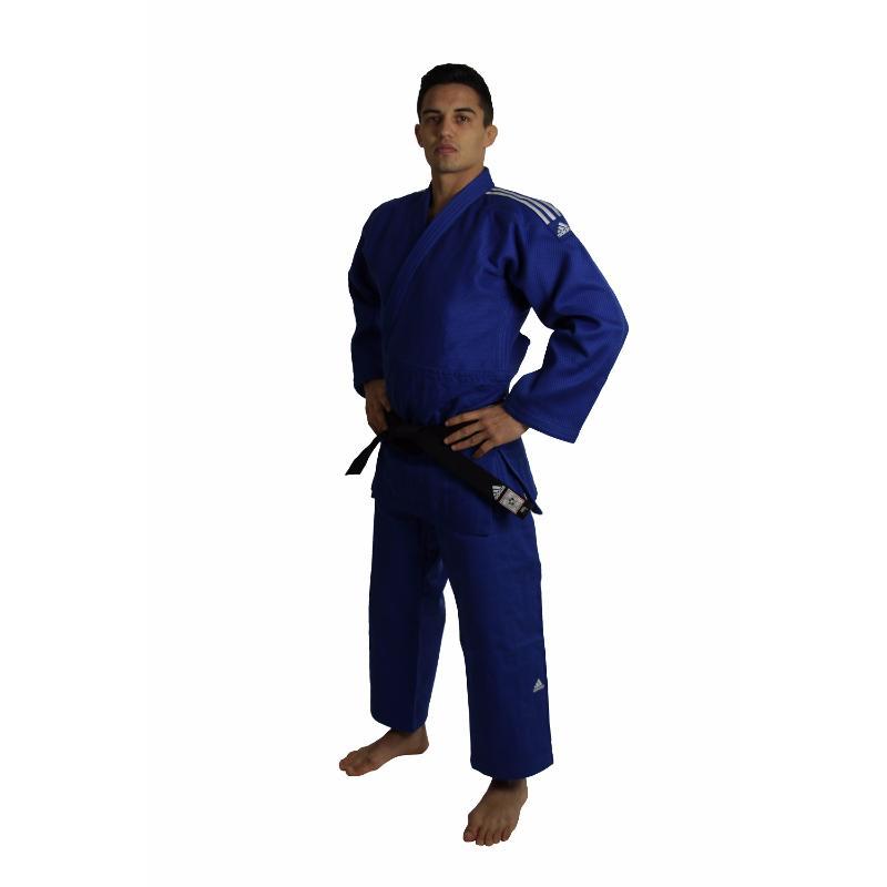 quality design 731b8 dfbaa ... Kimono de judo adidas IJF bleu ...