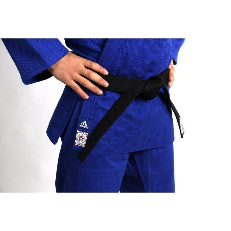 Kimono de judo adidas IJF bleu