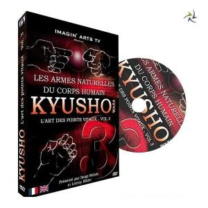 DVD Kyusho waza l'art des points vitaux Vol 3 - Imagin Arts -