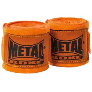 Bandes de boxe Metal Boxe 400 cm Orange