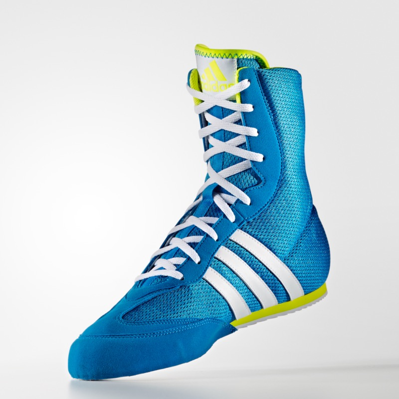 check-out 23363 4056c Chaussures box hog 2 bleu - adidas