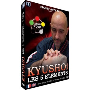 Coffret 05 DVD Kyusho 05 Eléments - Imagin Arts