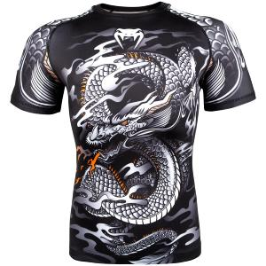 Rashguard Venum Dragon's Flight Noir/blanc S