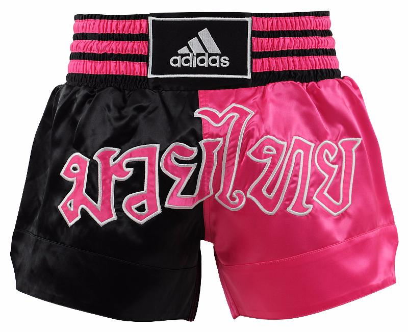 short de boxe tha rose adidas. Black Bedroom Furniture Sets. Home Design Ideas