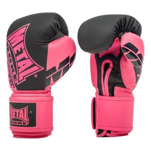 Gants Multiboxe Pro Metal Boxe Fushia 8 Oz