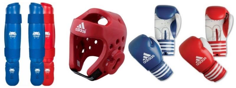 Casque d'entraînement pour Karate ou Taekwondo Adidas