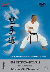 DVD Karate Shito-ryu Karatedo Kata et Bunkaï Vol 3 - Sport Multimedia