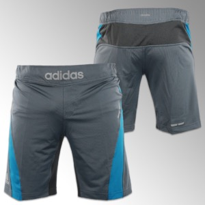"Short ""Fluid Tech"" MMA Silver/Solar Blue - ADIMMAS02 XL"