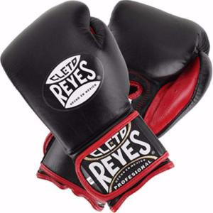 Gants de boxe Pro Reyes Medium (12/14 oz) - Noir