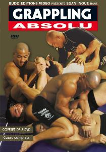 Grappling absolu coffret de 3 DVD - Budo Editions
