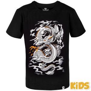 45c6bb456efe9 T-shirt Venum Dragon's Flight enfant noir/blanc 12 ans