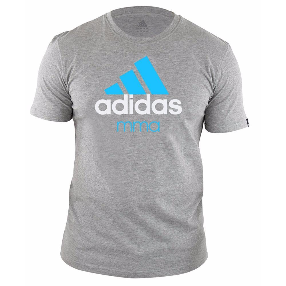 Shirt Mma Xl Tee Adidas Grisbleu Line Community wdwY4qI