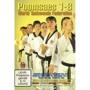 DVD Taekwondo WTF Poomsae de base 1 à 8 - Budo International