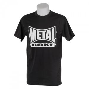 T-shirt Casual Metal Boxe noir XL