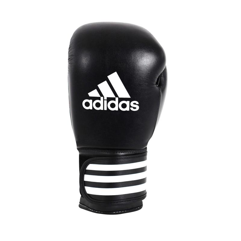 Gants de boxe Adidas en cuir Noir 10 oz