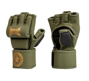Gants de combat libre Military - Metal Boxe L