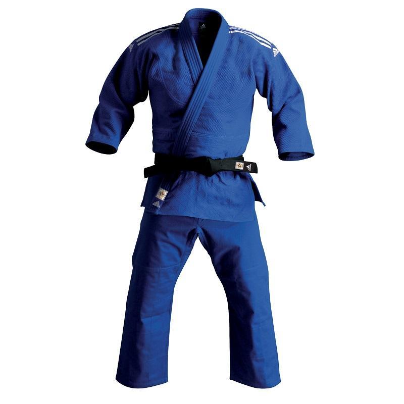 low priced 1faaa 0340c Kimono de judo adidas bleu haut niveau J930
