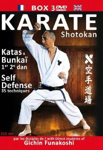 Karate Bushido -  Coffret 03 DVD  Karate Shotokan - 8209