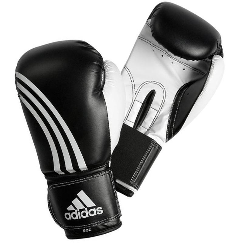 gants de boxe adidas en cuir. Black Bedroom Furniture Sets. Home Design Ideas