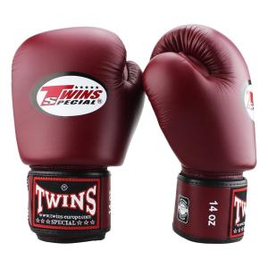 Gants de boxe Twins AirFlow Premium Bordeaux 10 Oz