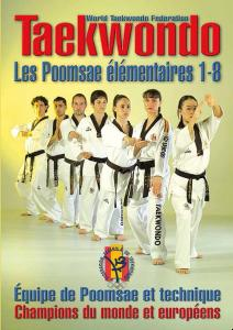 Budo International Livre Taekwondo, les Poomsae de base 1 à 8 - LTK94001