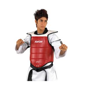 Plastron de taekwondo homologu/é par la WTF pour la comp/étition