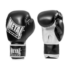 Gants d'initiation boxe Metal Boxe noir 10 Oz