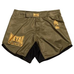 Fightshort MMA Metal Boxe Military S