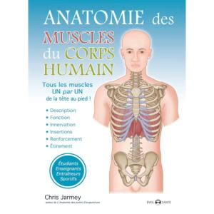 Anatomie des muscles du corps humain - Budo Editions