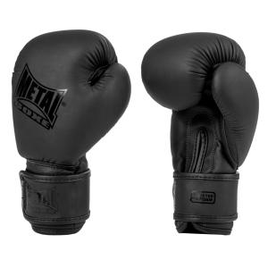 Gants de Boxe Enfant Metal Boxe - Mini Black 4 Oz