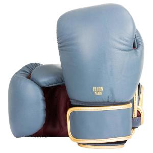 Gants de Boxe Cuir Paris Elion Gris 14 Oz