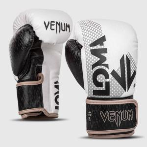Gants de boxe Venum Arrow Edition Loma - Noir/Blanc 10 Oz