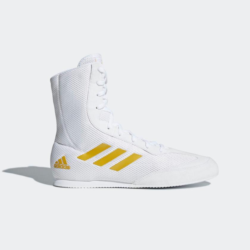 Chaussures de Boxe Adidas Box Hog blanc 45 1/3