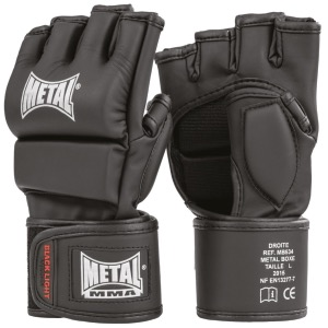Gants de combat libre Black Light M - Metal Boxe