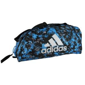 47def8756a Sac de sport Adidas combat Camo Medium Bleu